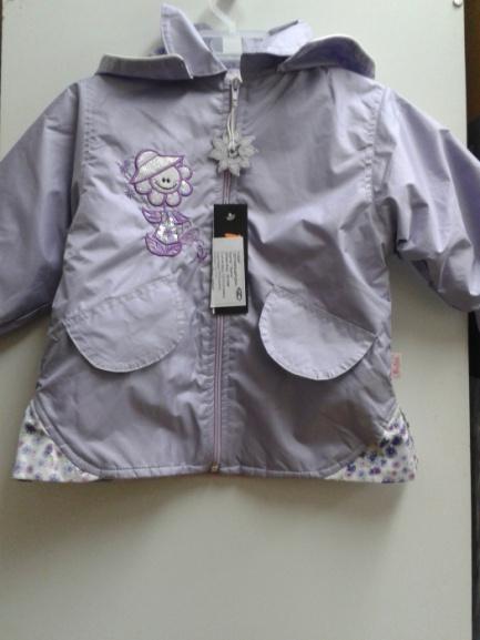 Куртка-ветровка для девочки«Цветочек»
