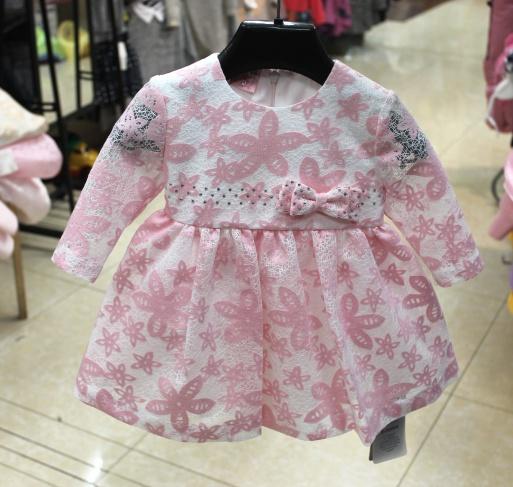 Нарядное детское платье «Модница»