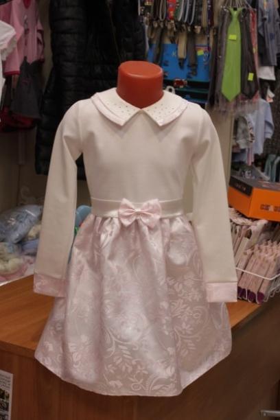 Детское светлое нарядное платье