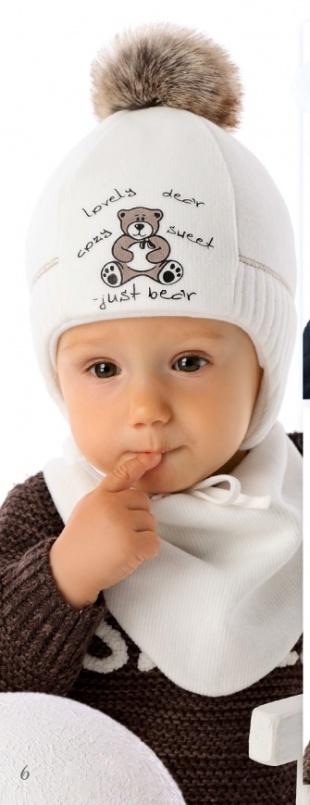 Шапочка для новорожденного «Bartek»