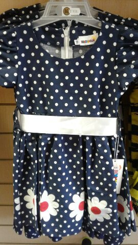 Платье для девочки летнее х/б