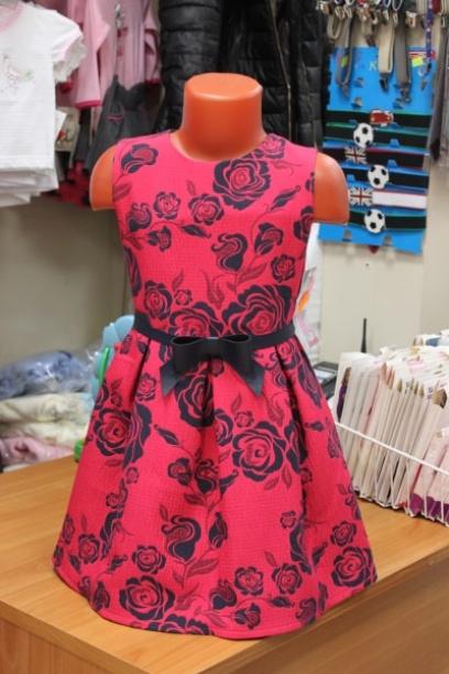 Нарядноедетское платье сцветами