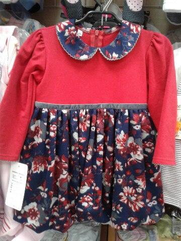 Детское платье «Алый цветочек»