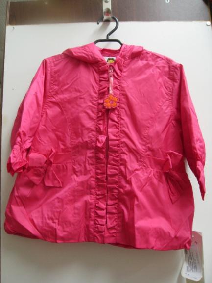 Детская куртка-ветровка Wojcik (малиновая)