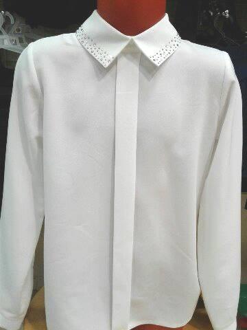 Школьная блузка для девочки«Сияние»