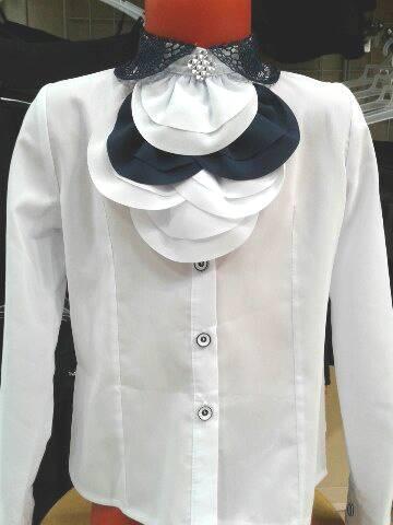 Школьная блузка для девочки «Грация»