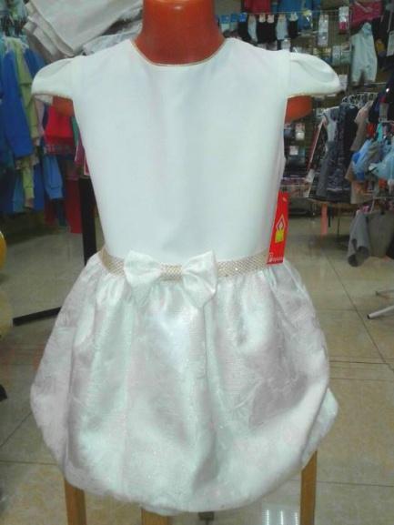 Нарядное детское платье «Белая ночь»