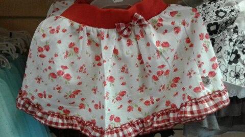 Детская юбка летняя
