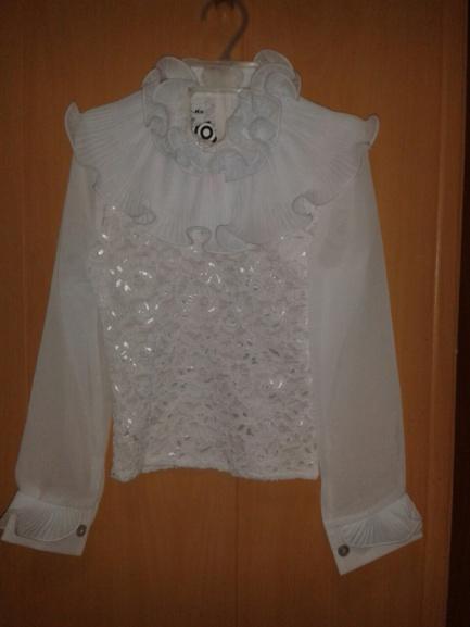 Наряднаяшкольная блузка для девочки