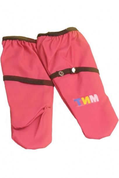 Непромокаемые рукавицы для детей фуксия