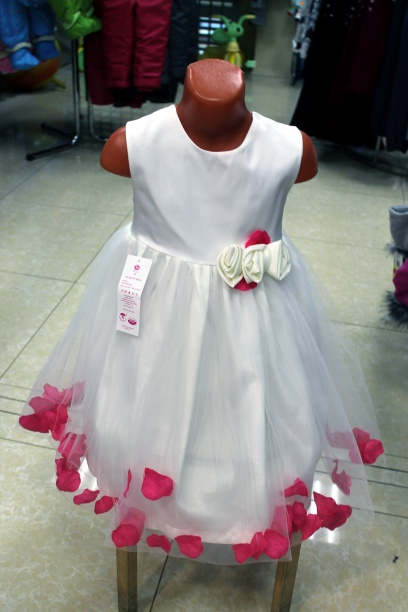 Нарядное платье для девочек «Лепестки роз»