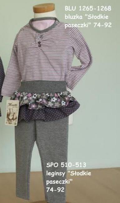 Костюм (блузка+леггинсы) для девочки