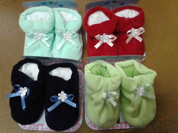 Мягкие пинетки для новорожденных