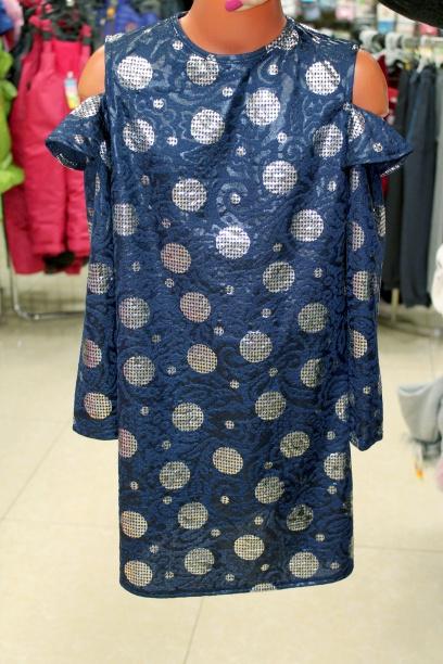 Платье-туника для девочки «Кокетка»