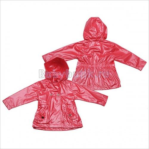 Плащик (непромокаемый) скапюшоном для девочки