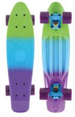 Лонгборд (фиолетовый, голубой, зеленый)