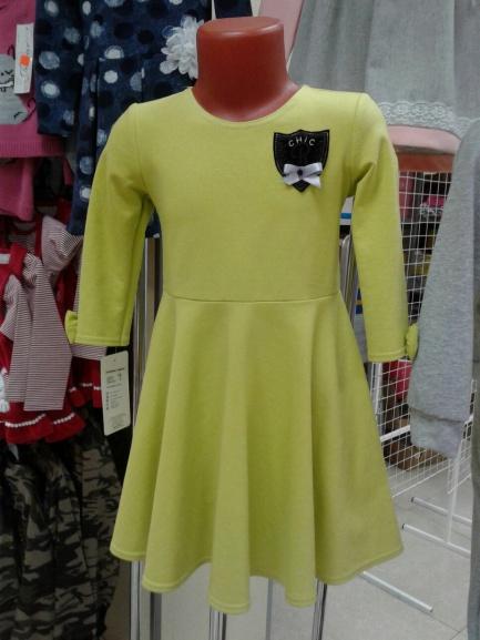 Платье для девочки, накаждый день