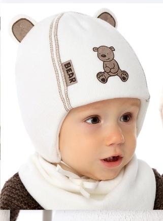 Шапочка для новорожденного «Mikus»