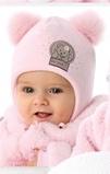 Шапочка для новорожденного «Мишутка»