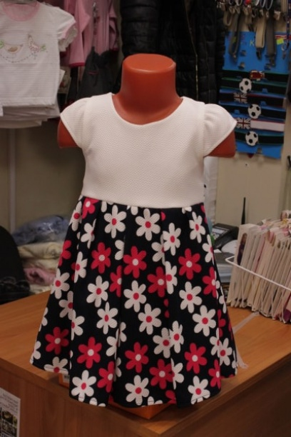 Детское платье сцветочками