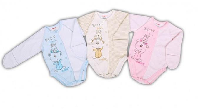 Боди для новорожденных «Мишка изайка»
