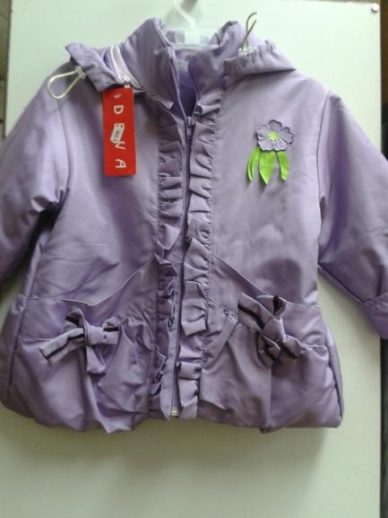 Детская куртка-ветровка сцветком