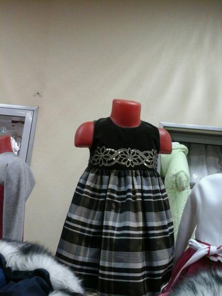 Детское платье оливковое «Принцесса»
