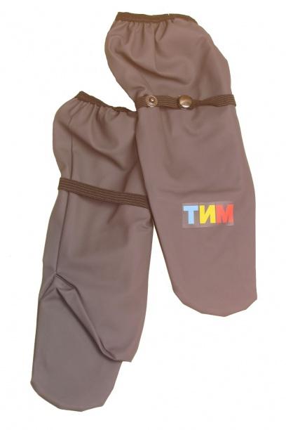 Непромокаемые рукавицы для детей серые
