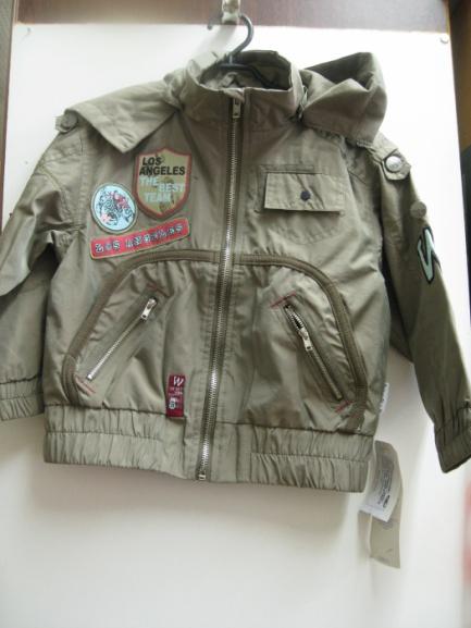 Детская куртка-ветровка для мальчика Wojcik