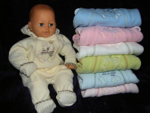 Комбинезон для новорожденного теплый