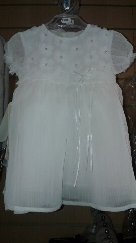 Платье белоснежное для девочки