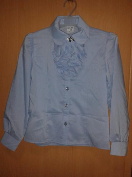 Красивая блуза вшколу для девочки