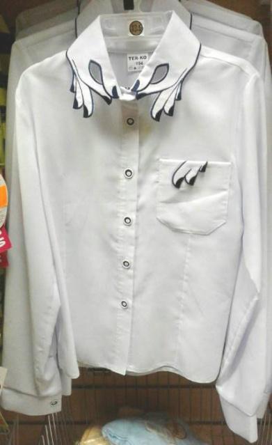 Блузка вшколу для девочки «Модница»