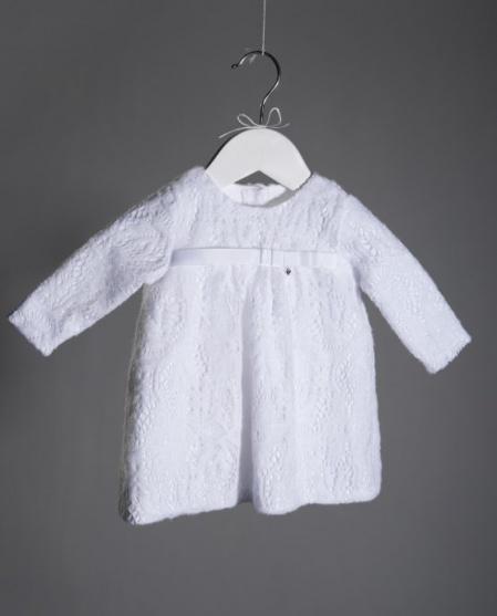 Белоснежное детское платье