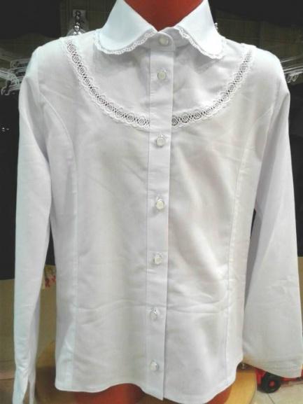 Школьная блузка для девочки «Ландыш»
