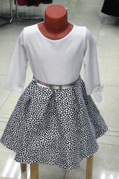Нарядное детское платье «Жемчужина»