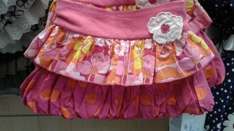 Яркая летняя юбка надевочку