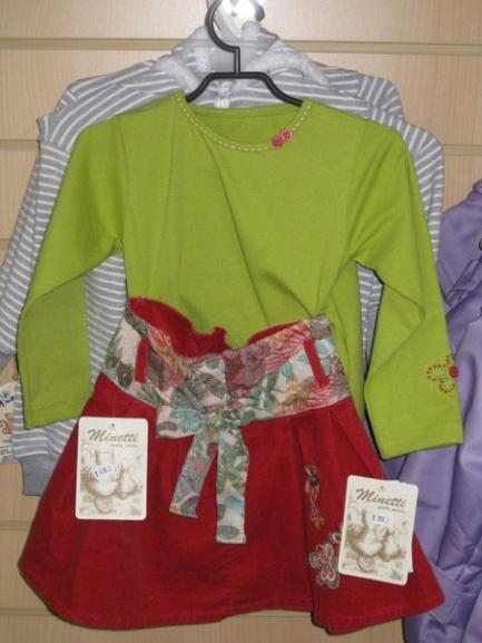 Блуза зеленая для девочки