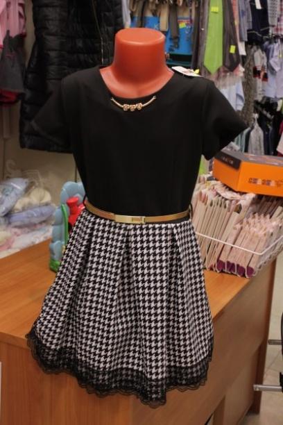 Платье для девочки, классическое