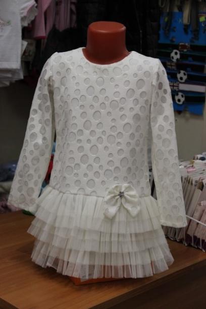 Детское платье нарядное, сюбкой Годе