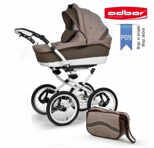 Детская коляска 3 в 1 ADBOR Marsel