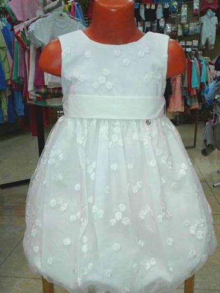 Детское нарядное платье «Белоснежное»