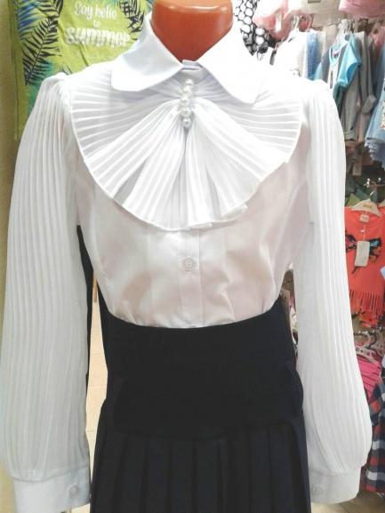 Школьная детская блузка «Магнолия»