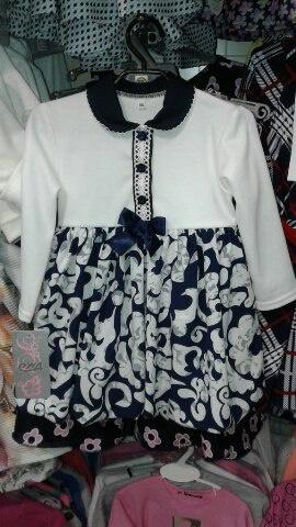 Платье ч/б нарядное для девочки