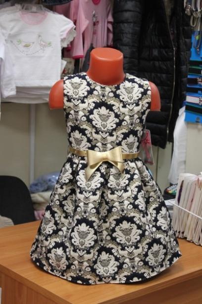 Нарядное платье для девочки «Звезда»