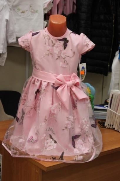 Нарядное детское платье «Элегантность»