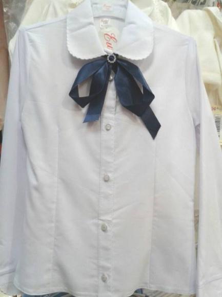 Школьная блузка для девочек «Юность»