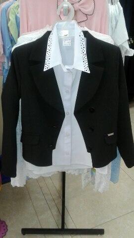 Школьный пиджак для девочек «Классика»