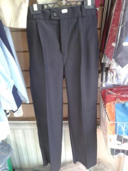Классические брюки для мальчика в полоску