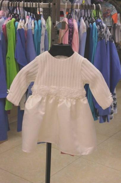 Детское платье нарядное накрестины